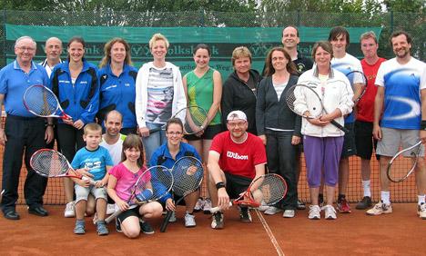 Tennismeister beim FC Schlossau ermittelt