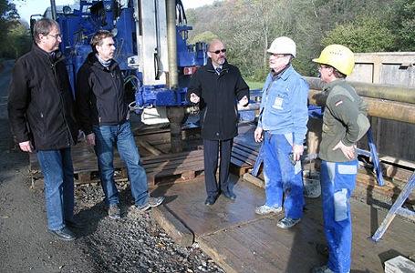 468Altes Bergwerk wird untersucht