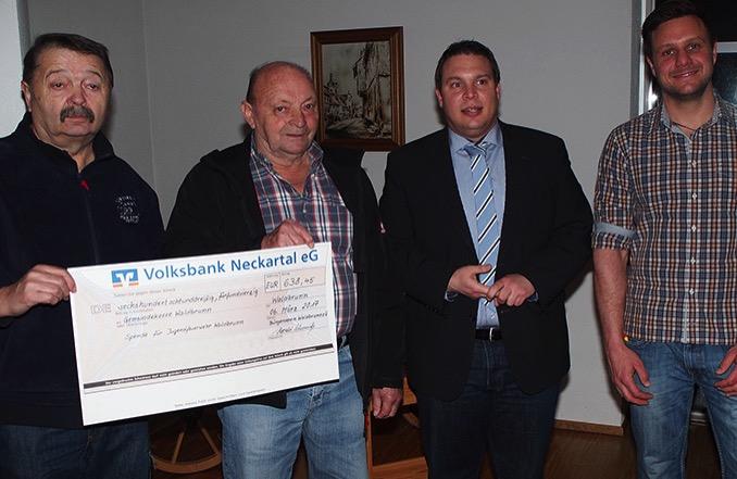 NZ Spende JFW Buergerverein