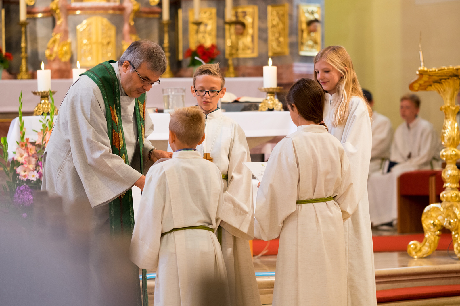 Ministrantenaufnahme in St. Maria Waldbrunn thumbnail