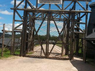 Eingang zur Hölle. KZ Struthof