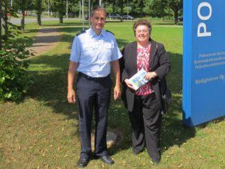 MdB Horb besucht Polizei in Buchen