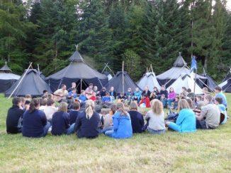 Singen am Lagern