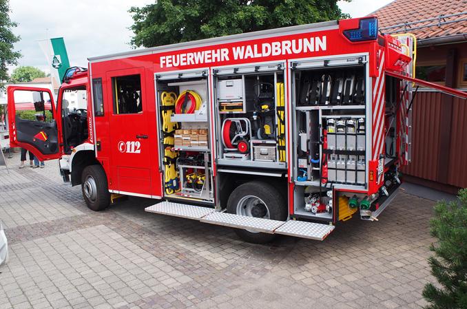 Besondere Gabe zum Feuerwehrfest thumbnail