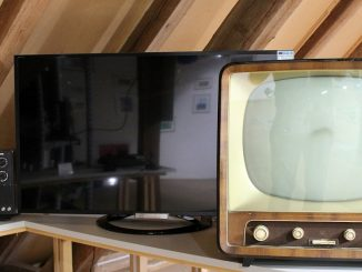 Tv Retro Household Appliances Old