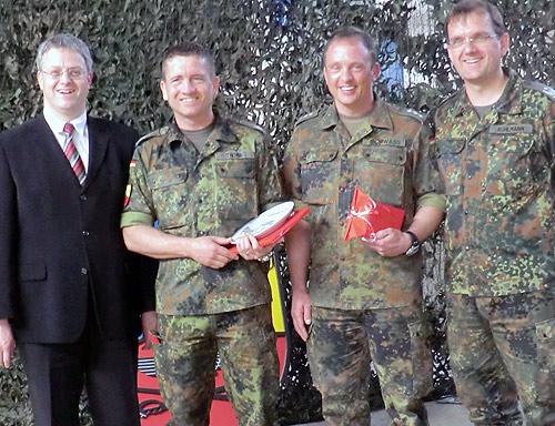 Seckach verabschiedet Major Thoma