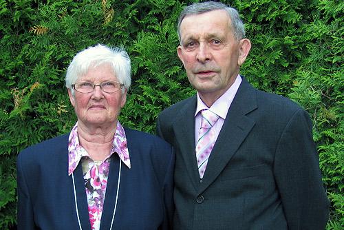 500 Jubelpaar Gisela und Manfred Mueller aus Schlossau
