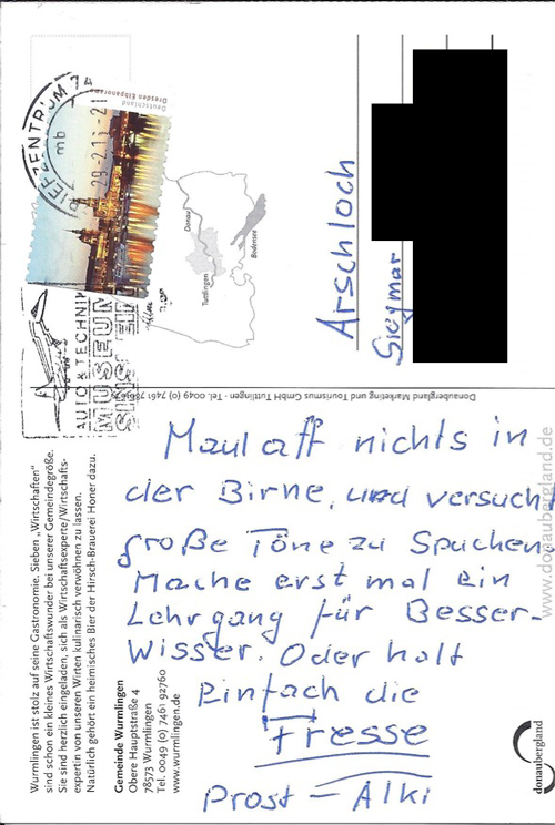 Postkarte-Flickinger