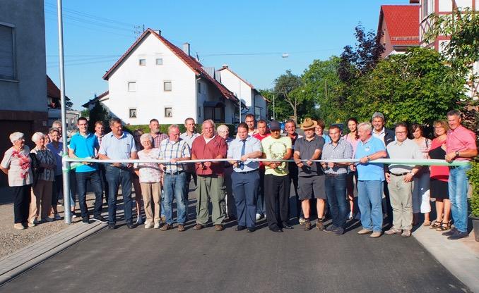 18 07 16 Einweihung Wilhelmstrasse Weisbach