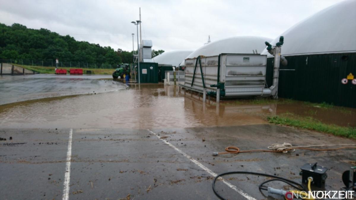Unwetter sorgt für Überschwemmungen – NOKZEIT